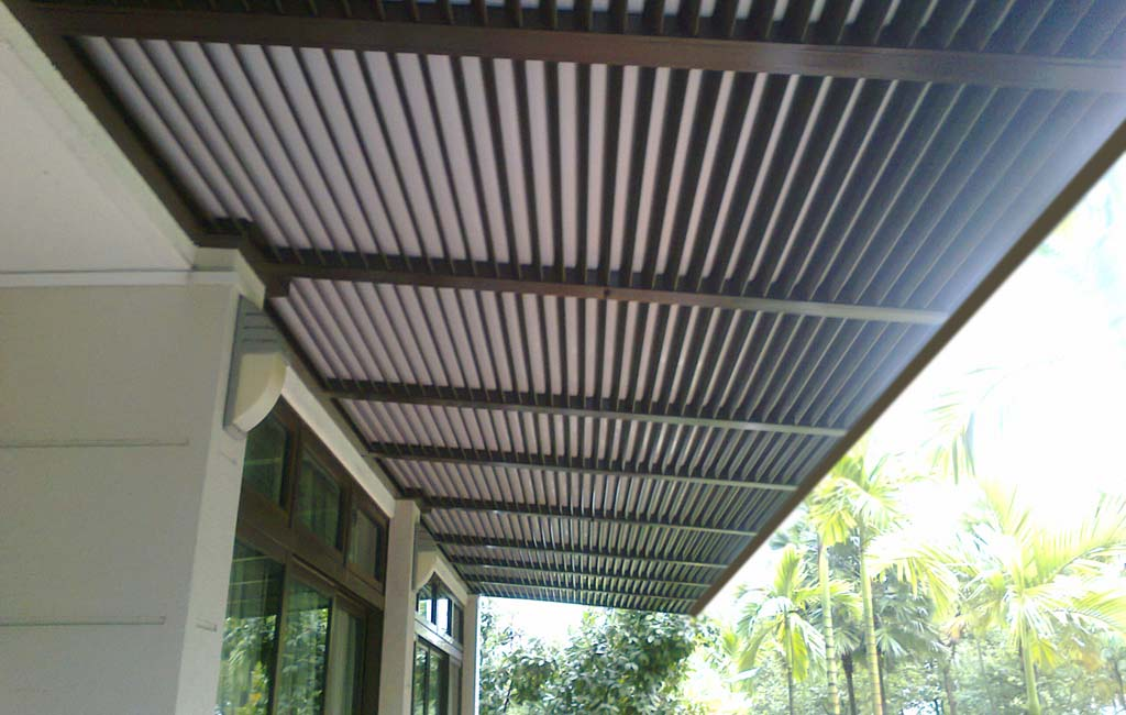Motorised Louvers